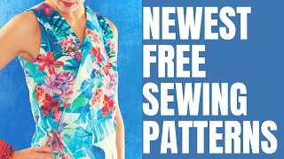 Newest Free Sewing Patterns