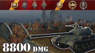 World Of Tanks  Object 140 .. 8800 Dmg