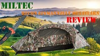 MILTEC Einmannzelt Recon  Review #1