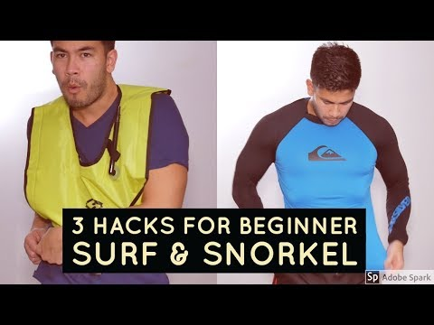 3 Lifehacks For Your Next Beach Vacation - Surf & Snorkel