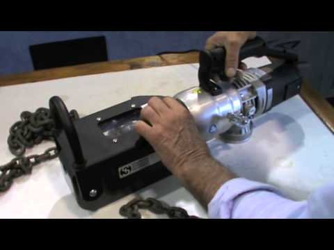 Edilgrappa TC26 Chain Cutter Demonstration