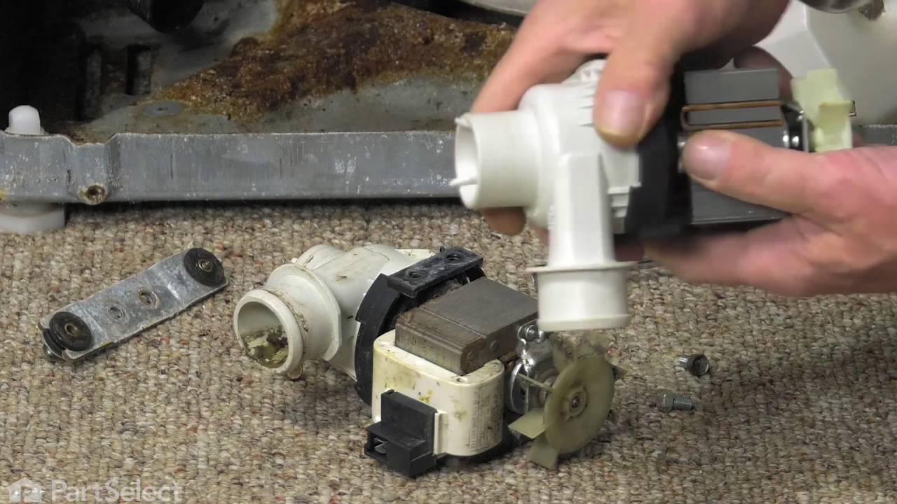 Replacing your Frigidaire Washer Remote Style Pump with Motor