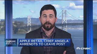 Apple retail chief's departure shakes up leadership structure at tech giant
