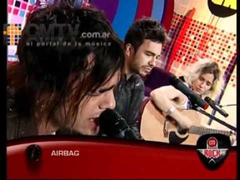 Airbag video Dónde vas? (Acústico) - CM Rock 2011