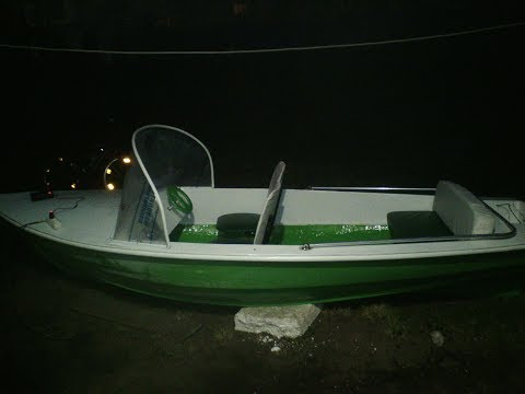 Катер из лодки Пелла своими руками. 1-часть.