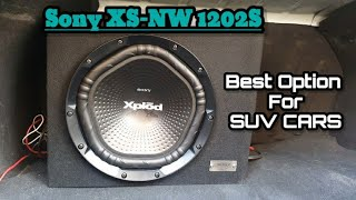 Sony XS-NW 1202s box subwoofer review