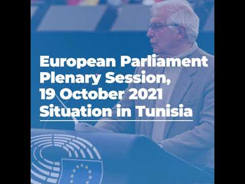 EP Plenary Session 19/10/2021 | #01 Situation in Tunisia