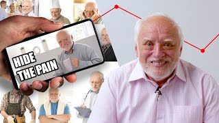 A stock photo shoot led to one of the biggest memes on the internet and changed one man's life forever. Be sure to follow along with Hide The Pain Harold at:    Facebook: https://www.facebook.com/painharold  Instagram: https://www.instagram.com/painharold/  Youtube: https://www.youtube.com/hidethepainharold  Credits: https://www.buzzfeed.com/bfmp/videos/106871  Check out more awesome videos at BuzzFeedVideo! https://bit.ly/YTbuzzfeedvideo  GET MORE BUZZFEED: https://www.buzzfeed.com https://www.buzzfeed.com/videos https://www.youtube.com/buzzfeedvideo https://www.youtube.com/asis https://www.youtube.com/buzzfeedmultiplayer https://www.youtube.com/buzzfeedviolet https://www.youtube.com/perolike https://www.youtube.com/ladylike  SUBSCRIBE TO BUZZFEED NEWSLETTERS: https://www.buzzfeed.com/newsletters  BuzzFeedVideo BuzzFeed's flagship channel. Sometimes funny, sometimes serious, always shareable. New videos posted daily! To see behind-the-scenes & more, follow us on Instagram @buzzfeedvideo http://bit.ly/2JRRkKU  Love BuzzFeed? Get the merch! BUY NOW: https://goo.gl/gQKF8m MUSIC  Licensed via Audio Network  STILLS Social network vector template, social frame post, photo media for phone. App network mockup with profile, comment Kolonko/Getty Images Turn on bulb. Light realistic transparent bulb bright lamp vector pictures ONYXprj/Getty Images Female Videographer in backside are shooing and recording video in Wedding Event. surachetsh/Getty Images Telephone byryo/Getty Images Portrait of elderly professor at study holding tablet computer StockLite/Shutterstock Do it yourself home renovation, elderly man standing on ladder painting wall. StockLite/Shutterstock  Portrait of older man on landline phone call, smiling happily at camera.? StockLite/Shutterstock  Senior man working in his study on desktop computer, smiling.? StockLite/Shutterstock  Smiling senior man bringing flowers to older woman. StockLite/Shutterstock  Senior man working at home hammering nail. StockLite/Sh