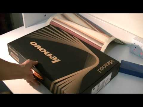 Lenovo Ideapad Z480 - Unboxing + [Lots of Free Gifts]
