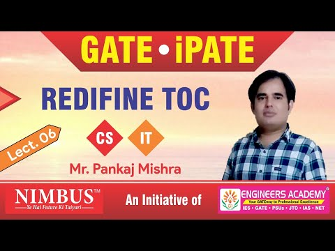 Preparation Of GATE & iPATE  Through Questions | Theory of Computation | CS | IT | GATE 2021| Lect-6