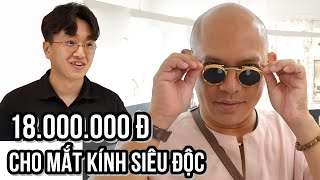 Seoul - spending nearly 1 million won on a unique pair of shades while changing prescription lenses