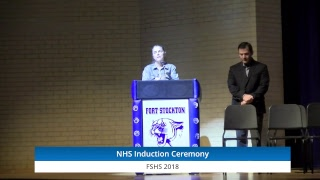 FSHS National Honor Society Induction Ceremony 2018