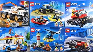 LEGO CITY(レゴ シティ)200ピースほどで完成する乗り物を作ろう♪