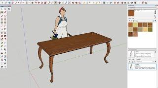 Crie Peças De Mobiliário Mais Complexas No SketchUp Com A Ferramenta INTERSECT.