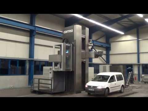 Milling machine CORREA SUPRA 90 NC Service