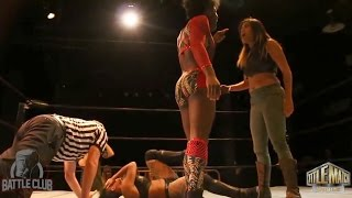 3-Way Women's Match - Vanity vs Katred vs MJ Jenkins - Battle Club Pro