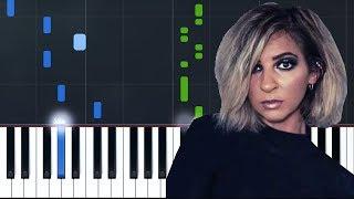 """Gabbie Hanna   """"Honestly"""" & EncorePiano Tutorial   Chords   How To Play   Cover"""