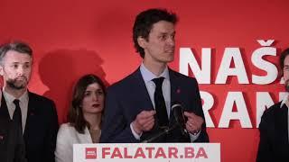 Govor Boriše Falatara, kandidata Naše stranke za Predsjedništvo BiH