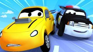 Odtahové auto pro děti - Policejní auto Matt potřebuje nové pérování