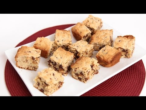 Sweet & Salty Cookie Bars Recipe – Laura Vitale – Laura in the Kitchen Episode 747