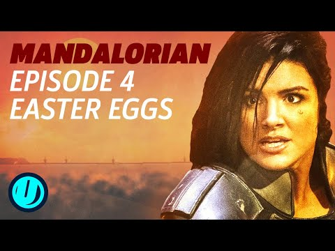 "The Mandalorian Episode 4 - All The Star Wars Easter Eggs in Chapter 4 ""Sanctuary"""