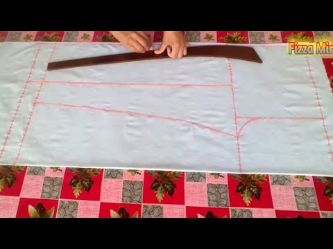 Ladies pant/trousers cutting and stitching in Urdu/Hindi by Fizza Mir