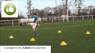 Festival Foot U13 - Défis Techniques - La jonglerie