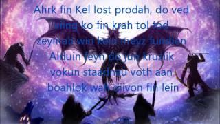 Skyrim: Sovngarde Song (Lyrics)