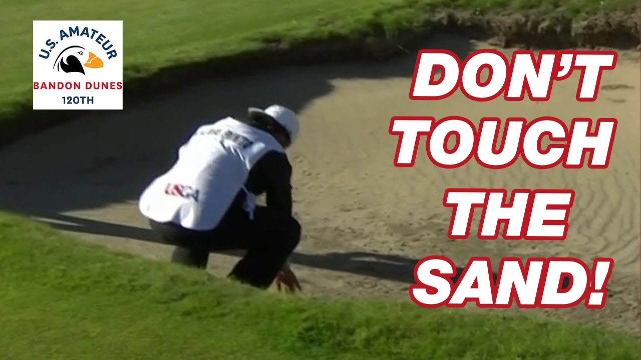 NEW VIDEO: Caddie Touches Sand in Bunker, Player Eliminated!