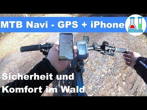 Fahrrad (MTB) Navigation im Wald - So verwende ich Garmin GPS und Smartphone - Test + Fazit