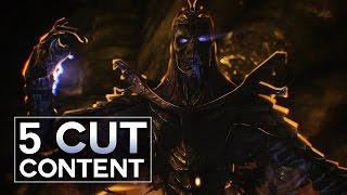 Skyrim - 5 Cut Content