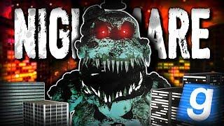 SHADOW NIGHTMARE FREDDY CRUSHES DOWNTOWN!!! | Gmod Sandbox Adventure