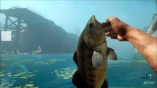 Far Cry New Dawn - Fishing Largemouth Bass - Open World Free Roam Gameplay (PC HD) [1080p60FPS]