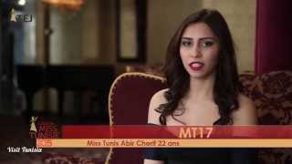 Abir Cherif Miss Tunisie 2015 contestant introduction