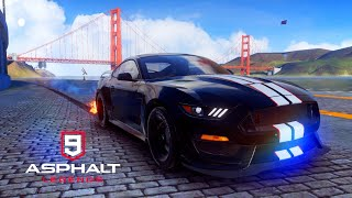 Asphalt 9 Ford Shelby GT350R Riot - 1:45.920 - Bridge Finale
