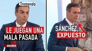 Un cámara de La Moncloa ENFOCA LO QUE NO DEBE y DESVELA lo que quiere ocultar Pedro Sánchez