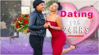 *DATING* My Best friend For 24hrs😍(THIS HAPPENED!)