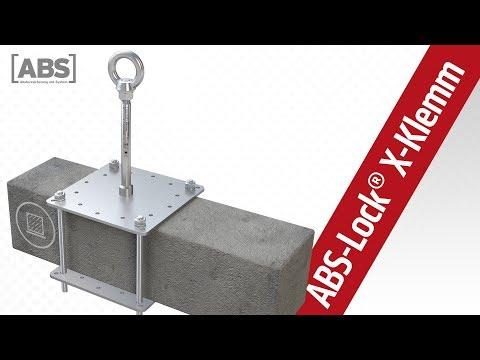 Kompakte Video-Präsentation zum Sekuranten ABS-Lock X-Klemm.