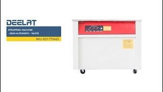 Strapping Machine – Semi-Automatic – White SKU #D1775453