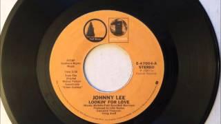 Lookin' For Love , Johnny Lee , 1980 Vinyl 45RPM