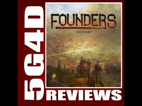 Founders of Gloomhaven- A 5G4D Review