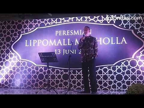 Peresmian Lippomall Musholla