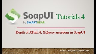 XPath and XQuery assertions in SoapUI in depth