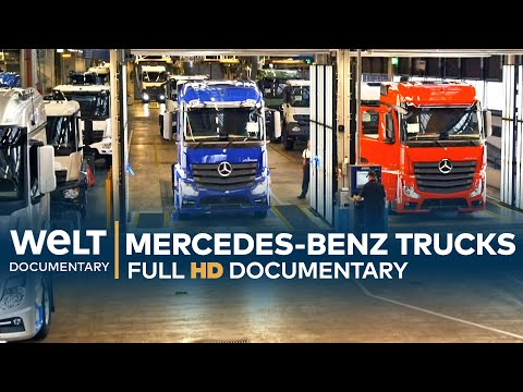 Kur gimsta Actros sunkvežimiai? Apsilankykite didžiausioje sunkvežimių gamykloje pasaulyje