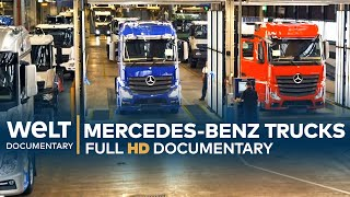Mercedes-Benz Trucks: The World's Biggest Truck Factory | Full Documentary