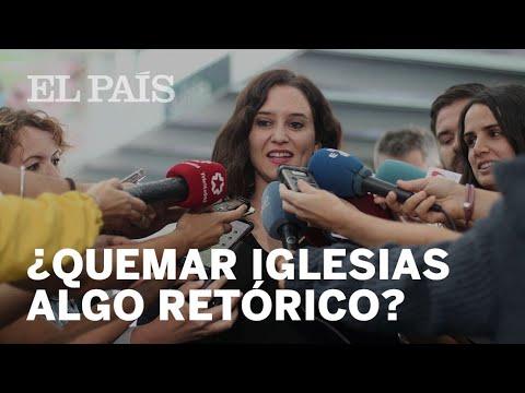 Isabel Díaz Ayuso fördert Gewalt gegen Linke