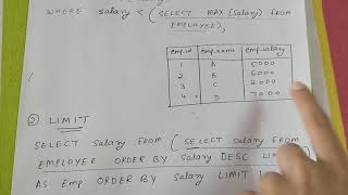 How to find second highest salary in SQL