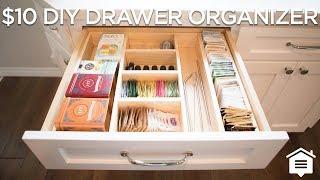 $10 DIY Drawer Organizer | How To Build
