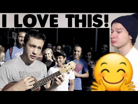 Twenty One Pilots - Can't Help Falling In Love Cover Reaction! (видео)