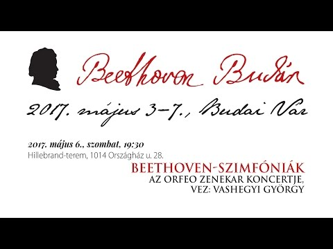 Beethoven Budán 2017 - Beethoven-szimfóniák - video preview image